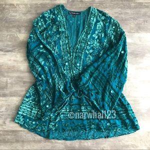 For Love And Lemons Dresses - NEW For Love Lemons Green J'adore Velvet Dress